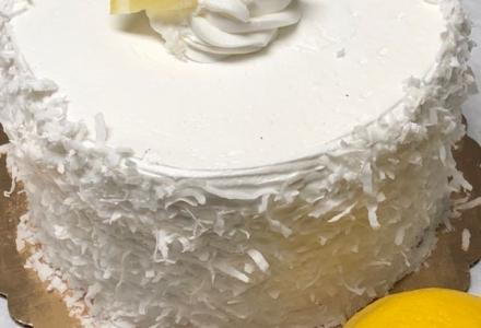 Leon Coconut Cake